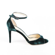 Jimmy Choo Velvet Ankle Strap Sandals SZ 38 - $205.00