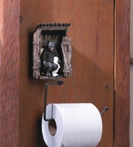 Bear using  Outhouse Toilet Paper Holder - $27.77