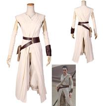 Star Wars Rey Deluxe Force Awakens Cosplay Costume Party Wear - $99.35