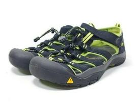 Keen Sports Sandals Women's Sz 6  Black Green Waterproof Synthetic  (sb18ep - $29.97