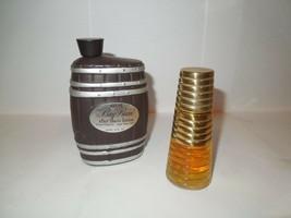 Vintage Avon Bay Rum After Shave Barrel Shaped Empty, NO Box, #322 - $4.90