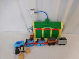 Thomas the Train Friends My First Tidmouth Sheds + Thomas Trains +  Haro... - $36.02