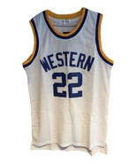 Butch Mcrae Western Blue Chips Movie Basketball Jersey Sewn White Any Size - $29.99+