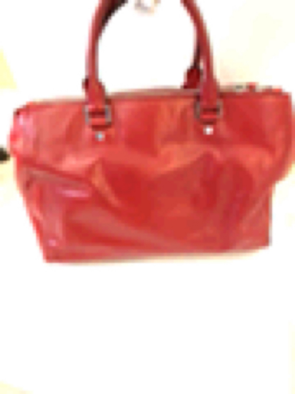 Michael Kors Bedford Red Leather Bag
