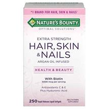 Nature's Bounty Hair, Skin and Nails, 250 Softgels (3 Pack) - $62.99