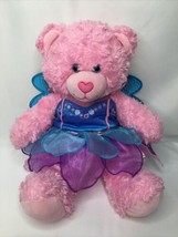 Build a Bear Works Shop Pink Bear Fairy Butterfly Outfit 17 inch 2016 - $14.52