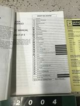 2004 DODGE DURANGO Service Repair Shop Manual Set W Data Book + Bulletin Page image 7
