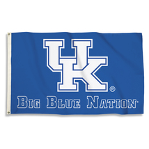 """Kentucky Wildcats """"Big Blue Nation"""" 3'x5' Flag with Grommets  - $35.95"""