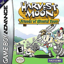 Harvest Moon Friends of Mineral Town (Nintendo Game Boy Advance, 2003) G... - $25.73