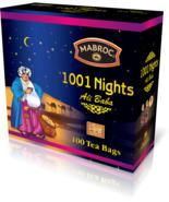 Mabroc pure Ceylon tea, 1001 nights pure Ceylon tea, 100 Tea bags 200g (... - $14.75