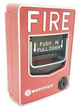 HONEYWELL NOTIFIER NBG-12LX FIRE ALARM PULL STATION IDP-PULL-SA NBG12LX image 2