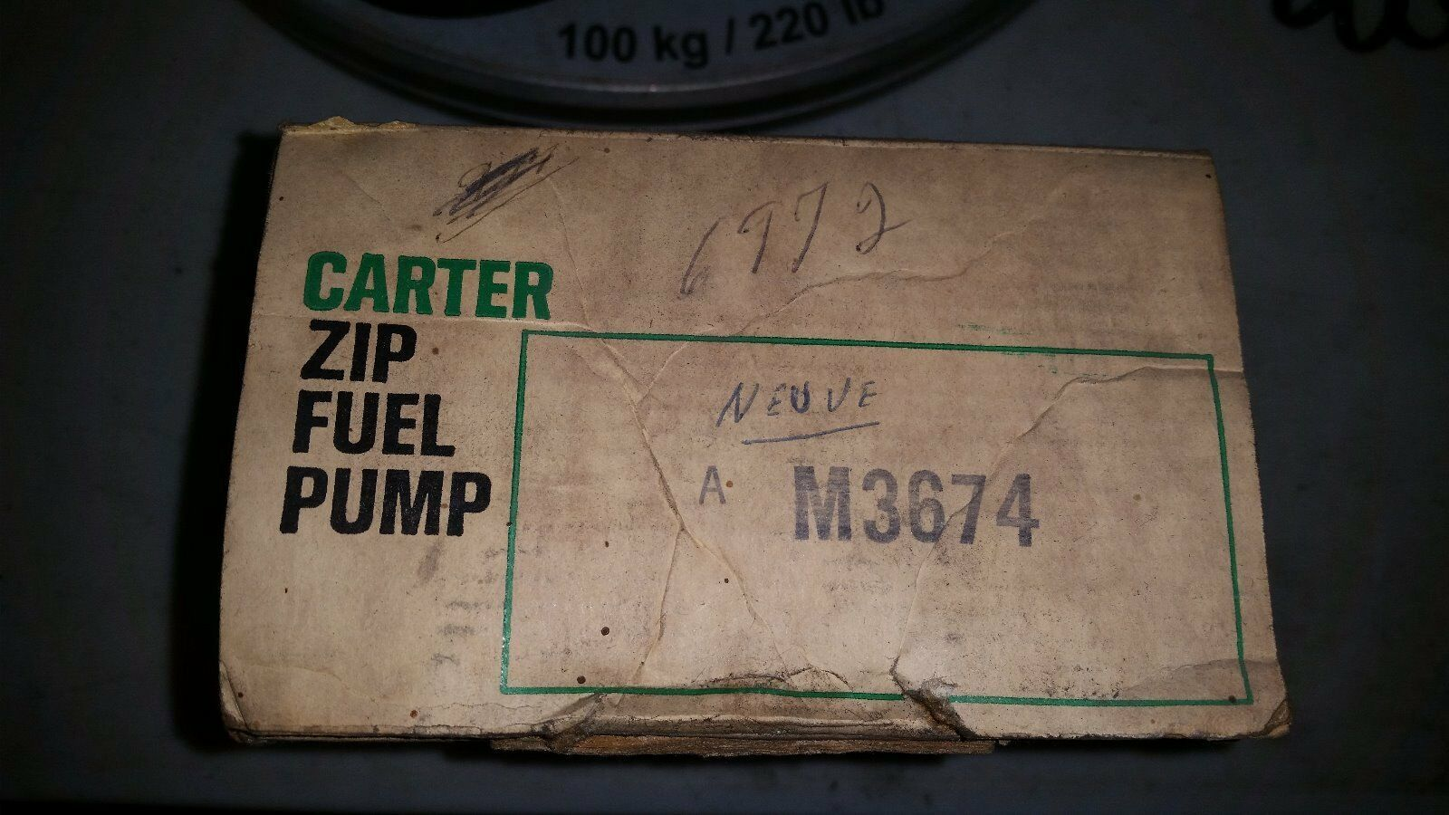 Mechanical Fuel Pump CARTER M3150