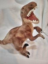 17 Inch Dinosauria II Velociraptor Dinosaur Plush Animal by Wild Republic B23 - $31.54