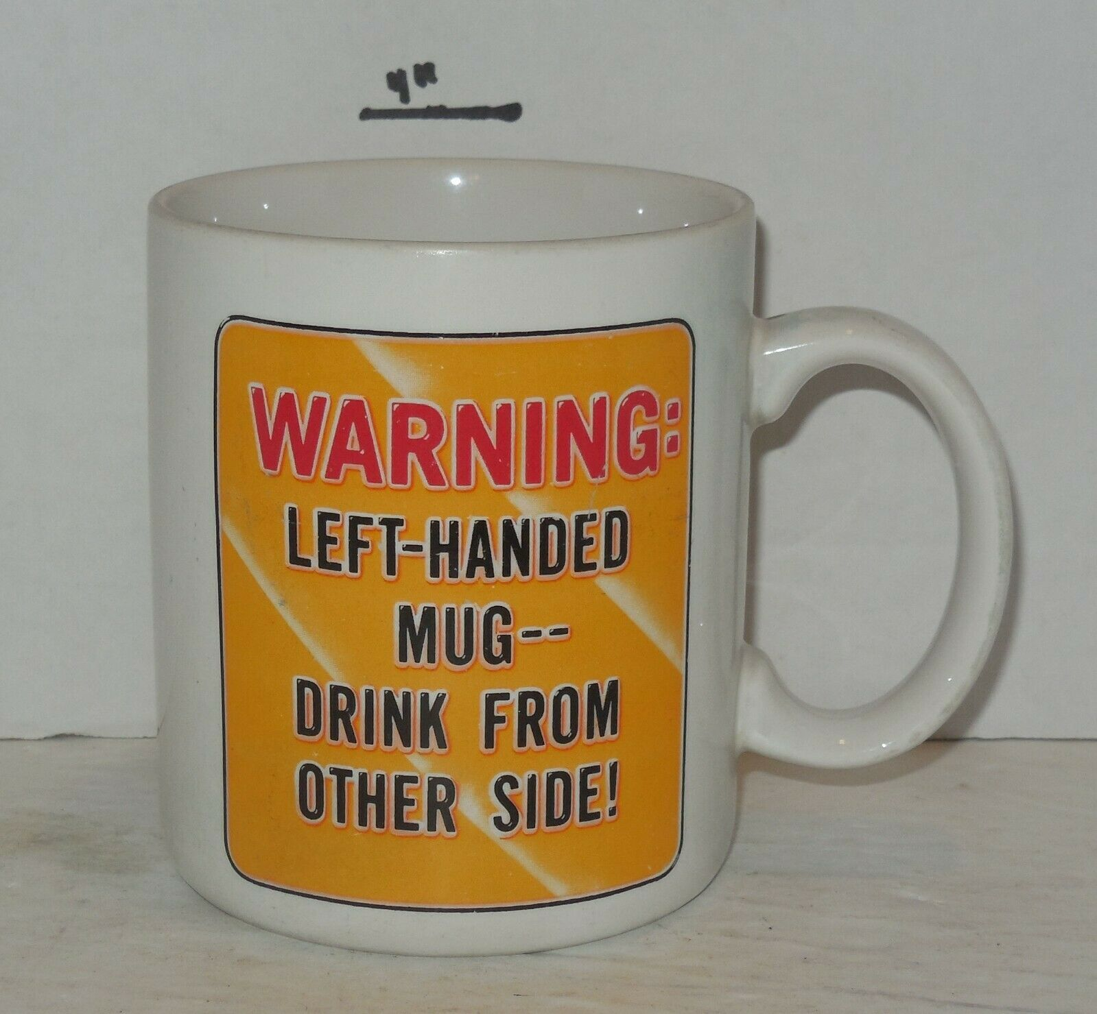 Primary image for Coffee Mug Cup Funny Humorous about being Left Handed Ceramic hallmark