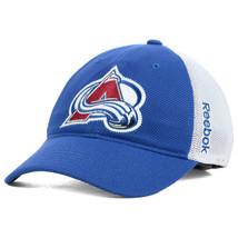 New Colorado Avalanche Reebok Center Ice Meshback Flex-Fit S/M Hat - $19.75