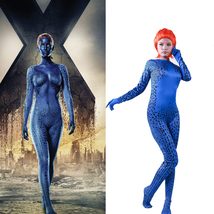 Mystique Halloween Costume Jumpsuit Bodysuit X-Men Movie Cosplay Party W... - $102.78 CAD
