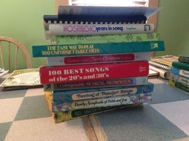 Sheet Music Lot of Readers Digest Book Lot of 10 Books Christmas FAmily ... - $118.75