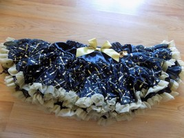 Size Medium 7-8 Disney Parks Star Wars Black Gold Tutu Skirt Lightsabers... - $24.00