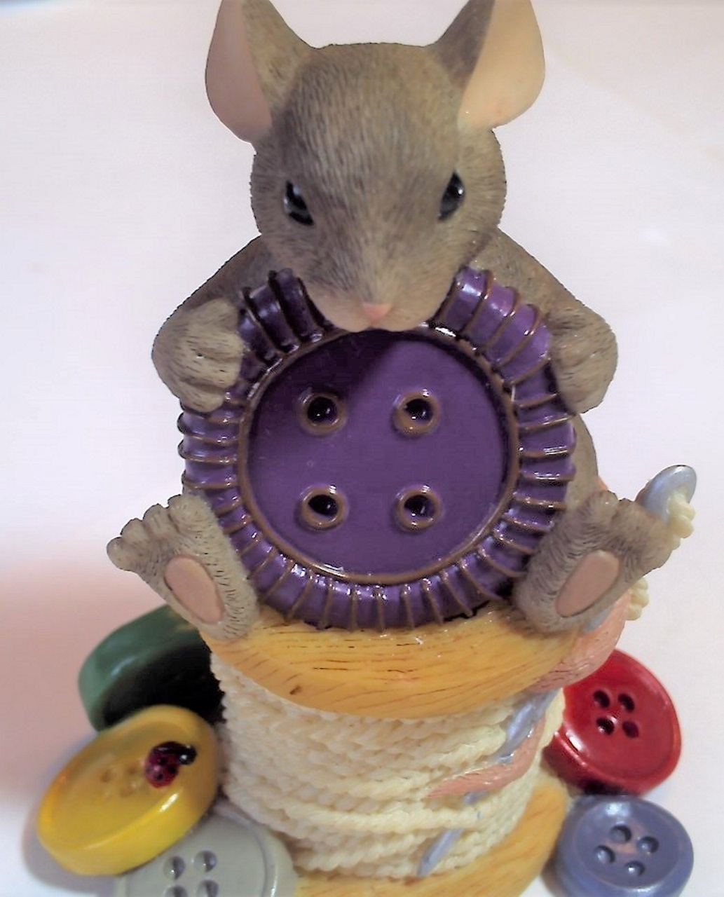 Charming Tails You're Cute As a Button 89/115 - Purple
