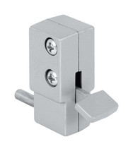 "Mag Security Patio Door Lock 0.9"" x 3.8"" x 2"" Aluminum Top/Bottom Steel ... - $10.44"