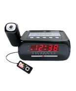Supersonic Digital Projection Alarm Clock with AM/FM Radio - $33.00