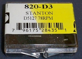 78 RPM ONLY Stylus Needle for STANTON D5127/5107 STANTON 500 SERIES 820-D3 image 2
