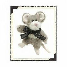 "Boyds Bears ""Munster Q. Fondue"" 6"" PLUSH Mouse- #5755-06 -NWT- 1998- Retired - $19.99"