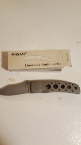 Liner Lock Knife 7.5 Open