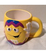 M&M's Character Easter Coffee Cup Mug Yellow Galerie - $8.79