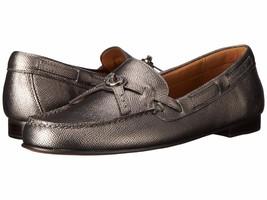 Coach Women's Kara Loafer Gunmetal Shoes Multiple Sizes - $89.99