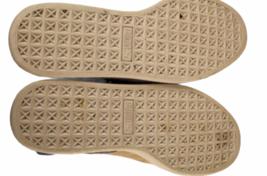 Women Blue Suede Puma Size 7.5 Shoe Sneaker Athletic Casual Low Top image 4