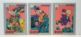 1991 DC Comics Villain Heritage Mr. MXYZTPLK Golden Silver Modern Cards - $7.58