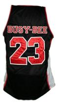 Busy-Bee #23 Sunset Park Movie Basketball Jersey New Sewn Black Any Size image 5