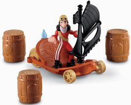 Fisher-Price Disney's Jake and The Never Land Pirates: Hook's Sailwagon - $11.22