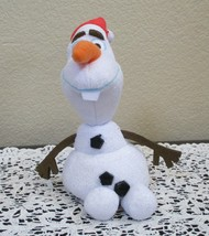 Ty Beanie Baby Olaf in Santa Hat NO TAG - $4.94