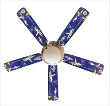 """Military U.S. Air Force 52"""" Ceiling Fan and Lamp - $118.99"""
