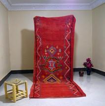 Vintage Boujaad Rug | Moroccan Rug | Berber Carpet | Area Wool RUG | Aut... - $520.00