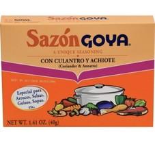 Sazon Goya Seasoning 1.41 Oz Box (Pack Of 2) - $17.81