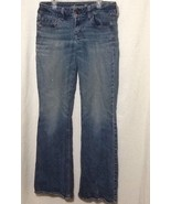 womens sz 8 american eagle artsit jeans preowned - $23.22