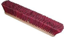HUB City Industries 1936S Black Diamond Floor Brooms, Red and Black Supe... - $57.85