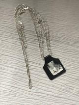 Estate Demi 925 Marked Silver Dainty Fiagro Twist  Necklace & Bracelet –... - $23.23