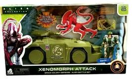 Alien Collection Xenomorph Attack Colony Defense APC Vehicle NEW  - $18.80