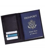 Embassy Solid Genuine Leather Passport Cover - $22.43