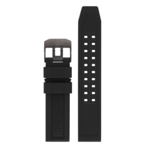 Luminox Watch Band Series 3050 Black Rubber 23mm Replacement Strap FP305... - $43.56