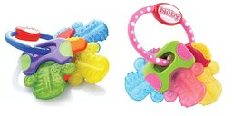 Nuby Ice Gel Teether Keys (2 Pack Pink/Blue) - $24.99