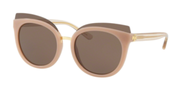 60debf6b1b New TORY BURCH Sunglasses TY 9049 166373 Blush Pink Cat-Eye Frame w Brown