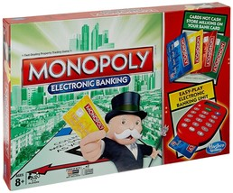 Monopoly Electronic Banking Board Game 2-4 Players Indoor Game Age 8+ - $73.49