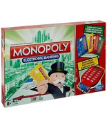 Monopoly Electronic Banking Board Game 2-4 Players Indoor Game Age 8+ - $80.00