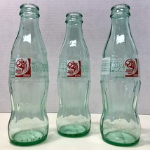 Coca-Cola 2010 FIFA World Cup Soccer South Africa Set of 3 Bottles 8 Fl.oz.Mint - $10.35