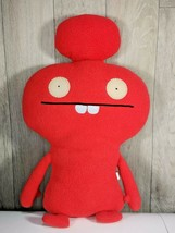 "UGLYDOLL 16"" Cozymonster MYNUS 2010 Plush Stuffie Super Soft Red #10432 - $18.22"